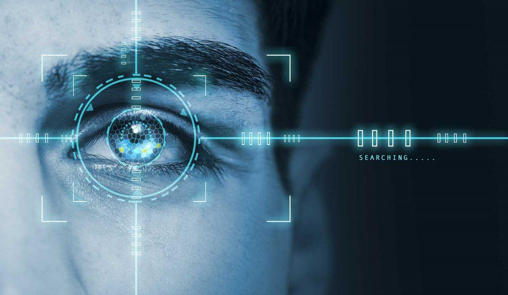 biometric retina scan